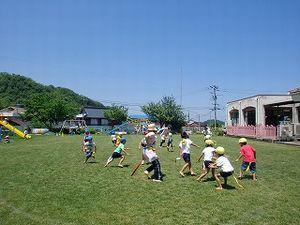 日本の校庭芝生化